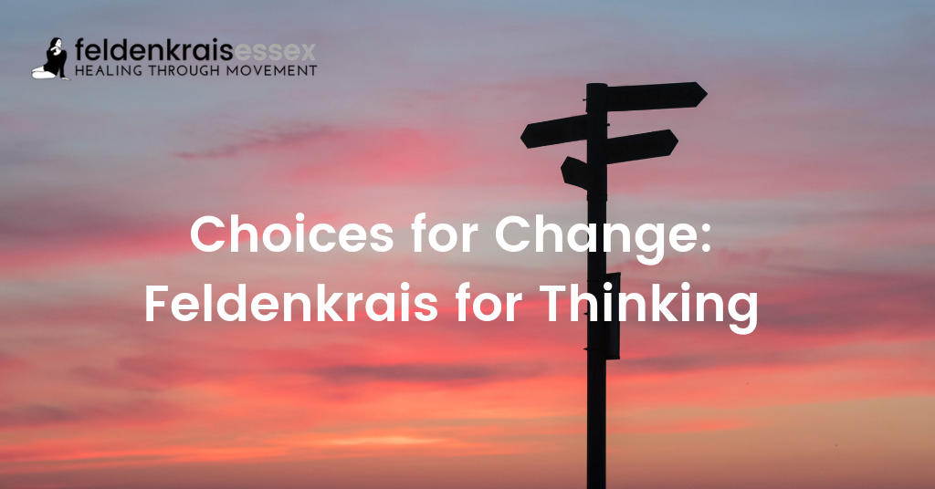 Choices for Change: Feldenkrais for Thinking