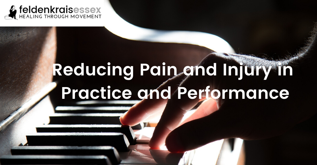 REDUCING PAIN AND INJURY IN PRACTICE AND PERFORMANCE